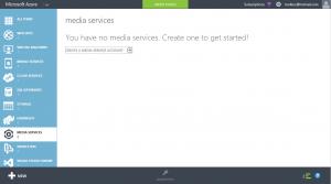 1 - Create Media Service