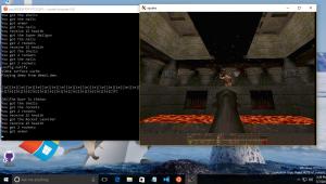 Quake on Bash on Ubuntu on Windows