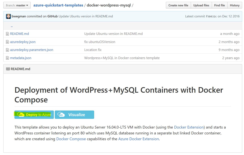 Migrate Azure Web App with WordPress + ClearDB to Azure VM